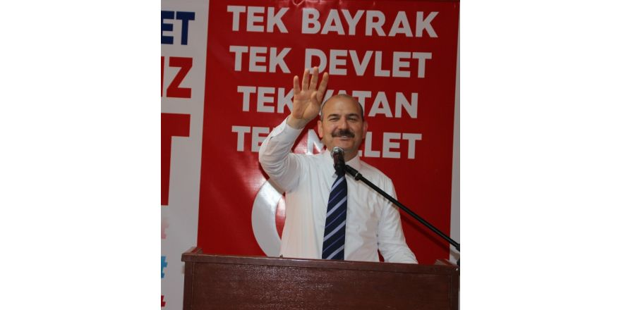 """Bakan Soylu: """"CHP Genel Başkanı Pensilvanya'daki zata söz verdiği için 'hayır' diyor"""""""