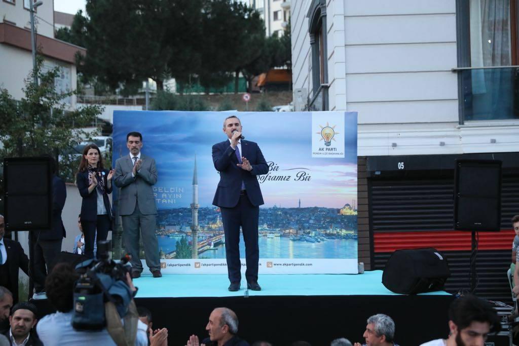 """""""Cumhur ittifakı Pendik'te yüzde 70 oy alacaktır"""""""