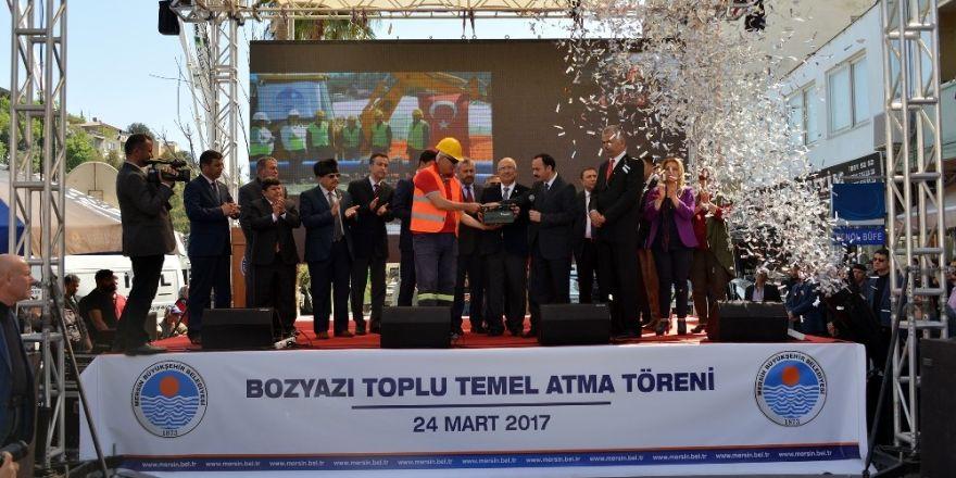 Bozyazı'da inşaatına başlanacak tesislerin temeli atıldı