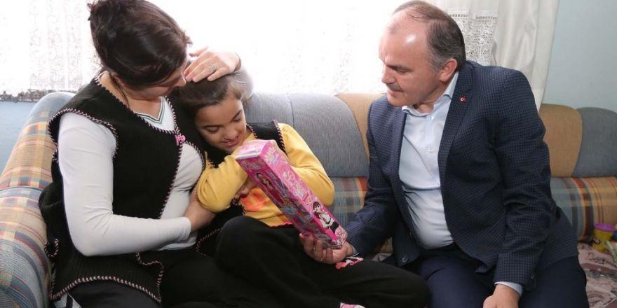 Pamukkale Belediyesi'nden Sude'yi mutlu eden hediye
