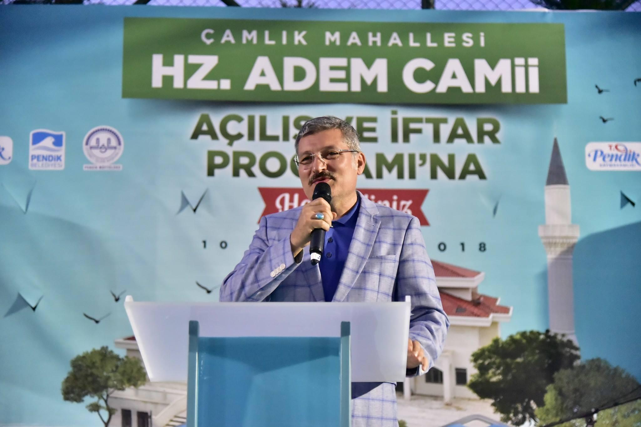 Pendik'te Çamlık Hz. Adem Camii Açıldı