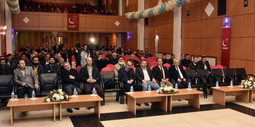 Gümüşhane'de Erbakan'ı Anma ve Anlama Gecesi düzenlendi