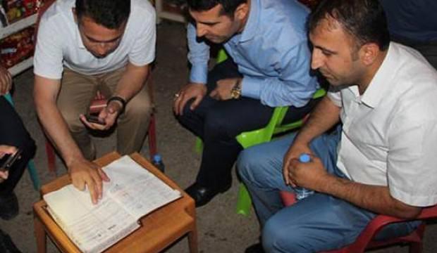 Şırnak'ta hayırseverler veresiye defterini satın aldılar