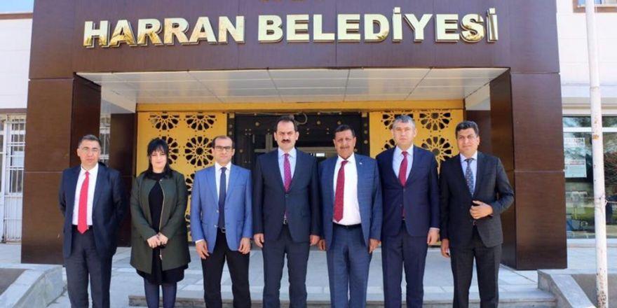 Müsteşar Yazıcı Harran'ı ziyaret etti