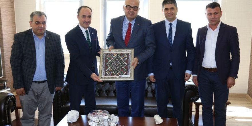 Başkan Ayrancı'dan, Keleşer'e nezaket ziyareti