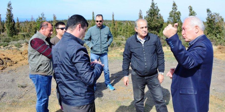 Lapseki'de doğalgaz çalışmaları sürüyor