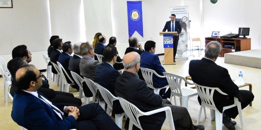 TEGV'de eğitimin güçlendirilmesi toplantısı
