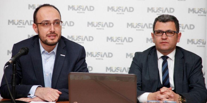 MÜSİAD Konya Şubesi'nde konferanslar sürüyor