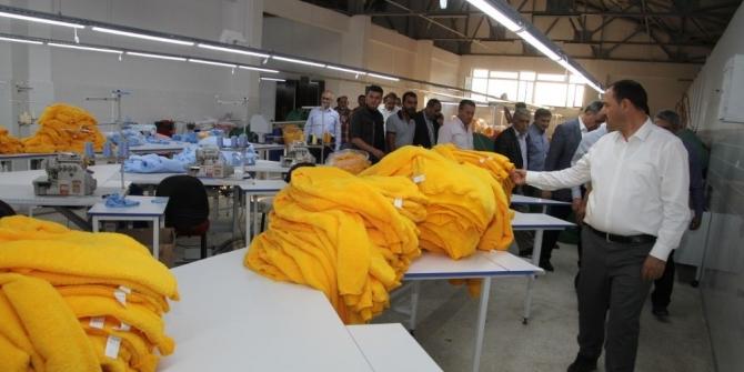 Vali Kaldırım, Baskil'de incelemelerde bulundu