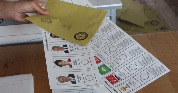 Ağrı'da sahte oy kullanmaya çalışan 3 kişi yakalandı