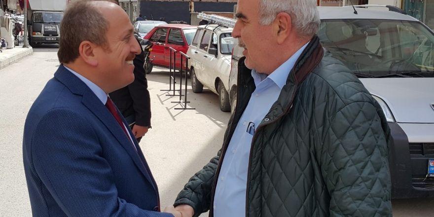 AK Parti'den esnaf ziyareti