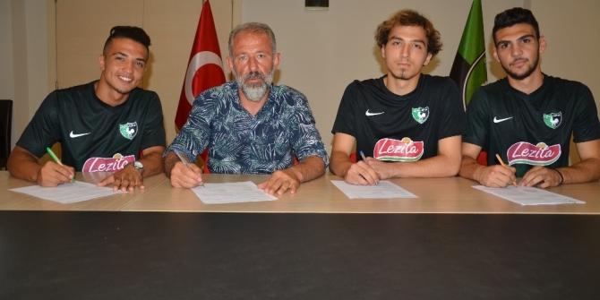 Denizlispor'da 3 altyapı oyuncusu A Takım'a geçti