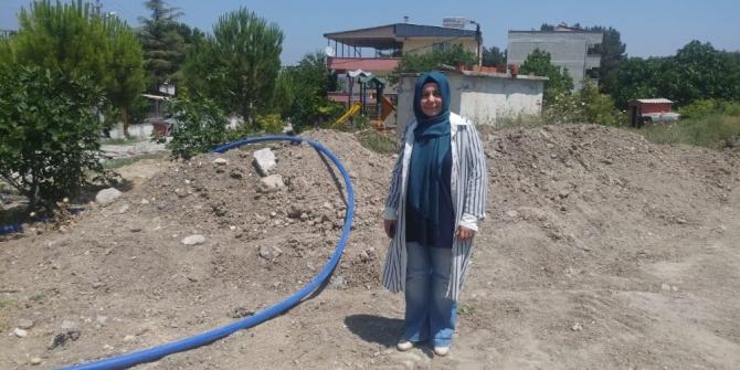 Turgutalp'in sağlıksız içme suyu hattı yenileniyor