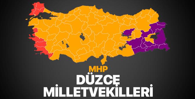 MHP Düzce Milletvekilleri 2018 – Düzce'de MHP kaç milletvekili çıkardı?