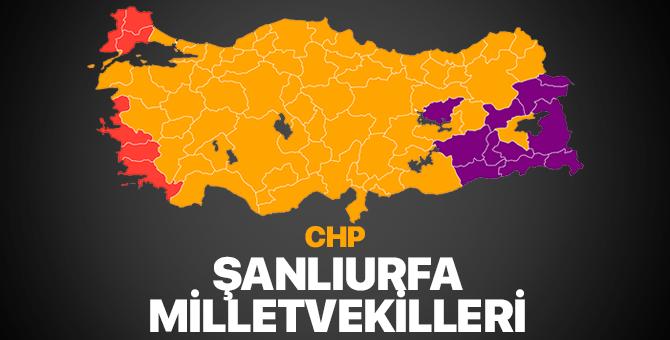 CHP Şanlıurfa Milletvekilleri 2018 – Şanlıurfa'da CHP kaç milletvekili çıkardı?