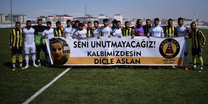 Ağrı 1970 Spor Kulübü, Dicle Aslan'ı unutmadı
