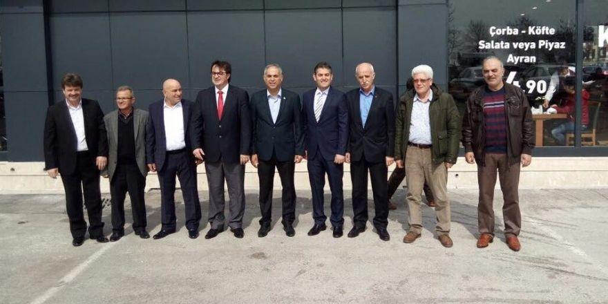 Başkan Yaman'ın İstanbul temasları