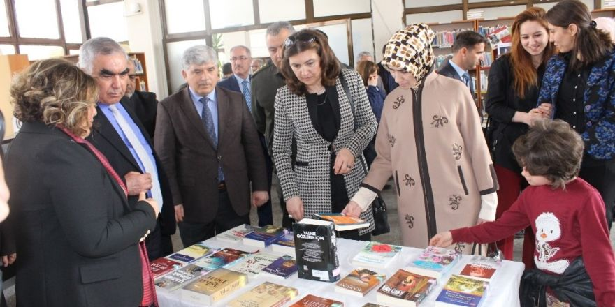 Kütüphane Haftası etkinlikler ile başladı