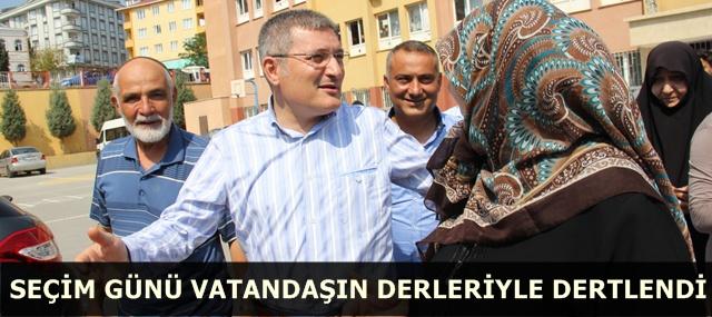 Dr. Kenan Şahin, Seçim Günü Vatandaşın Dertleriyle Dertlendi