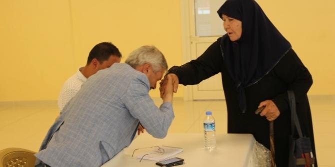 Başkan Kerim Yılmaz, halk gününde vatandaşlarla buluştu