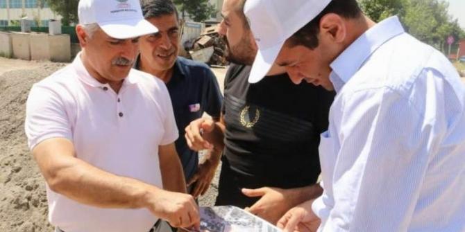 Yenişehir'de yeni imar yollar açılmaya devam ediyor