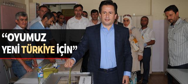 """Dr. Şadi Yazıcı """"Oyumuz Yeni Türkiye İçin"""""""