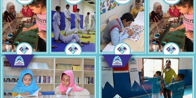 Eyyübiye Belediyesi yaz spor kursları devam ediyor