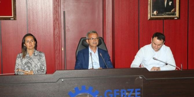 Gebze Belediyesi meclisi toplandı
