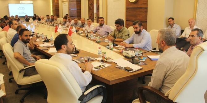 Kafile Başkanları ve Din Görevlileri toplantısı yapıldı