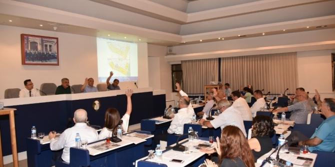 Salihli'de belediye meclisi temmuz toplantısını gerçekleştirdi