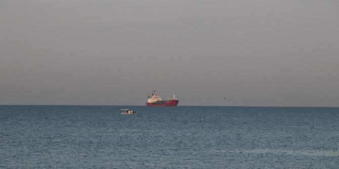 Sivriada açıklarında kuru yük gemisiyle çarpışan LPG Tankeri Küçükçekmece'ye getirildi