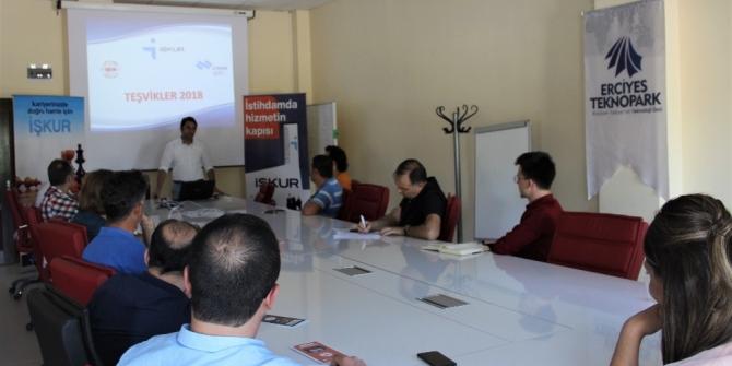 Teknopark'ta girişimcilere Yeni İstihdam Teşvikleri semineri