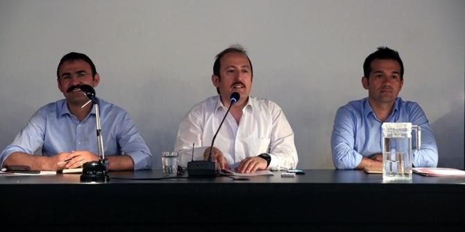 İl İdare Şube Başkanları toplantısı Vali Pehlivan başkanlığında gerçekleştirildi