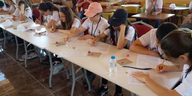 Öğrenciler Yenice'de proje kampı yaptı