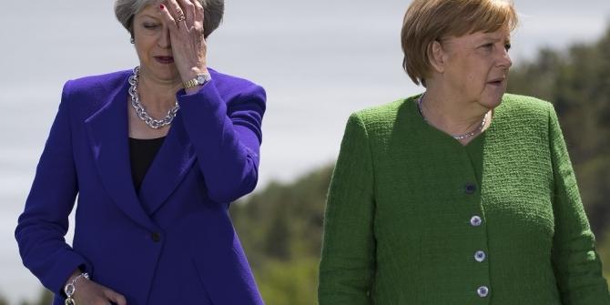 Theresa May-Merkel gündemi Brexit