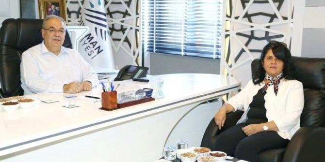 İller Bankası Gaziantep Bölge Müdürü İnce Başkan Kutlu'yla bir araya geldi