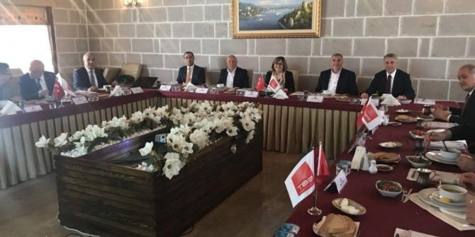Başkan Toçoğlu, Türkiye Belediyeler Birliği toplantısına katıldı