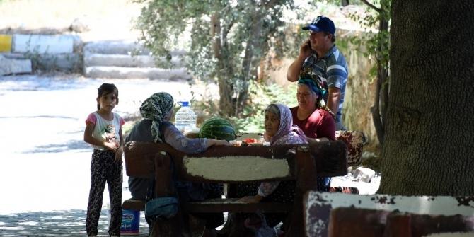 Mersin'de mesire alanları yenileniyor