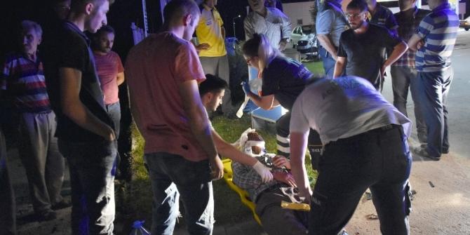 Kastamonu'da iki otomobil çarpıştı: 1'i ağır 3 yaralı