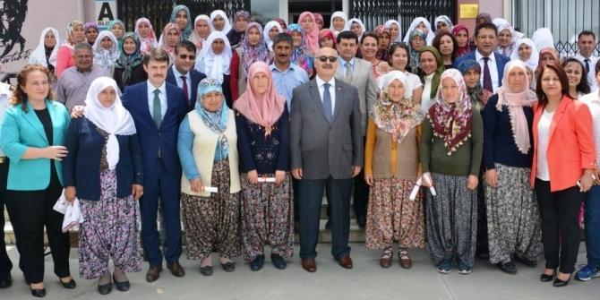 Aydın'da 456 kadın çiftçi eğitimden geçti