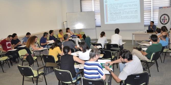 BAKA' nın proje uygulama ve izleme süreci eğitimi başladı.