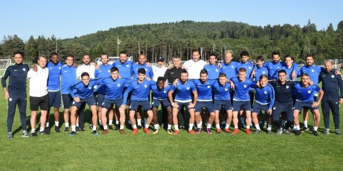 Erzurumspor, Topuk Yaylası'nda sezon hazırlıklarını sürdürüyor