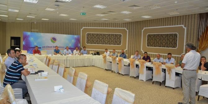 Kırşehir AEÜ'de ISO:27001 bilgi güvenliği yönetim sistemi eğitimi