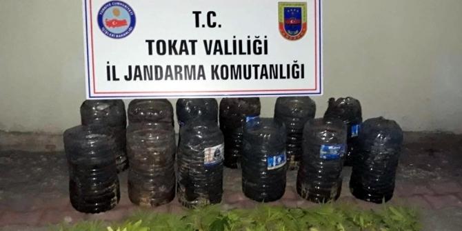 Tokat'ta kubar esrar operasyonu, 1 tutuklama, 1 firar