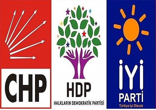 Erdoğan yemin ederken 3 partinin vekilleri ayağa kalkmadı!