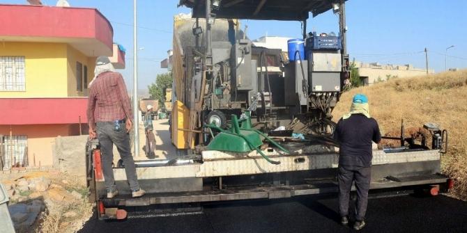 Siirt'in Kurtalan İlçesinde asfalt çalışmaları başladı
