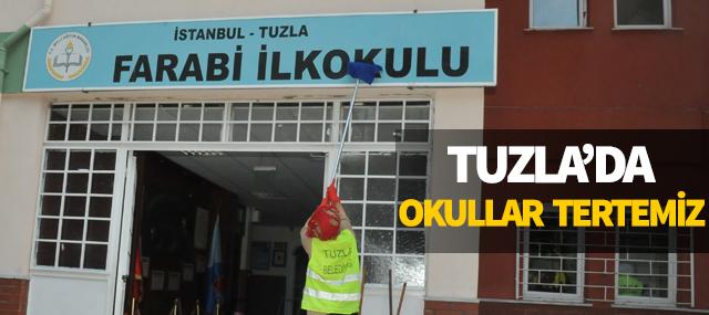 Tuzla'da Okullar Tertemiz