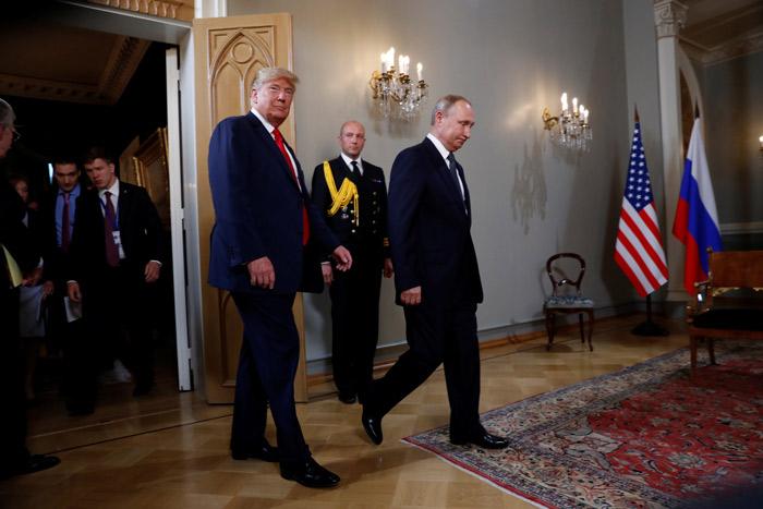 Putin Trump görüşmesi sona erdi