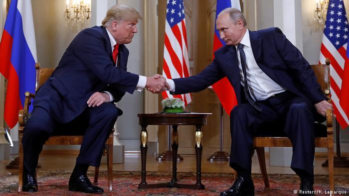"""Trump ve Putin'den tarihi zirve : """"Suriye'deki savaşı durdurmak istiyoruz"""""""