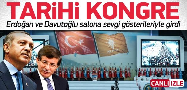 AK Parti'de Tarihi Kongre - CANLI İZLE